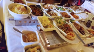 rijsttafel at Indrapura